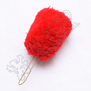 Red Wool Pom Pom for Shako Hat