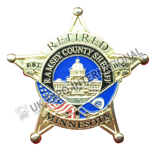 Retired Minnesota Badge