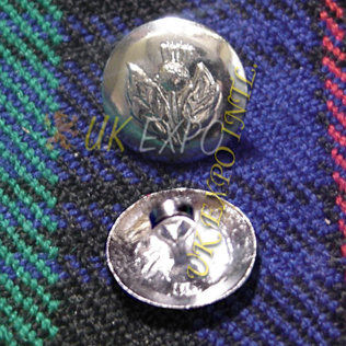 Round Shape Thistle Button