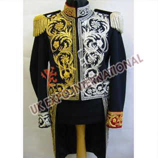 Royal looking fashionably embroidered coats