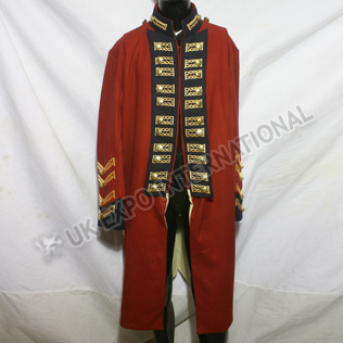 Royal Marines Dress Coat Pattern 1782