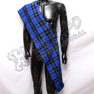 Royal Ramsay blue tartan Ladies Sash