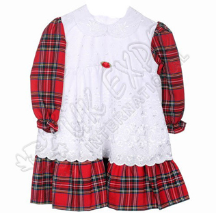 Royal stewart Children Baby Girl Dress