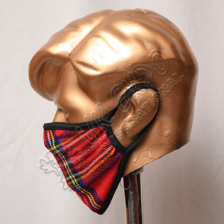 Royal Stewart Tartan Scottish Style Mask
