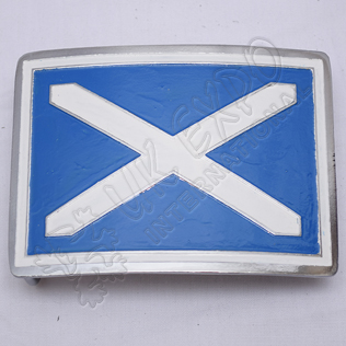 Saltire Buckle SS Color Filled