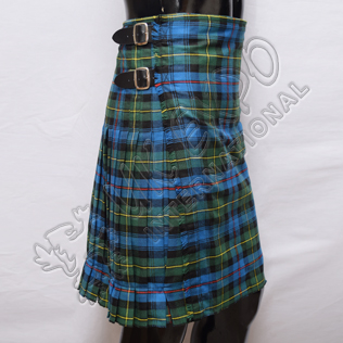 Scottish 8 Yards Flower of Scotland Tartan Kilts