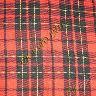Scottish Brodie Red Tartan No 18