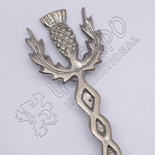 Scottish Celtic knot Sword Shiny Antique Kilt pin