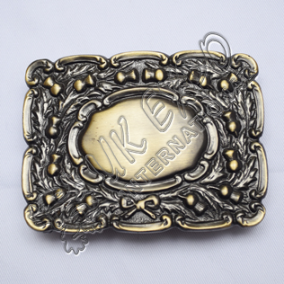 Scottish Dress Bronze Kilt Buckle
