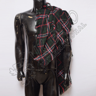 Scottish National Tartan Drummer and Pipers Fly Plaids