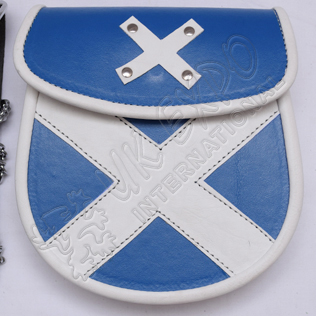 Scottish Leather Sporran