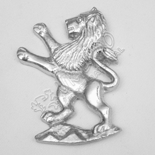 Scottish Lion Metal Badge