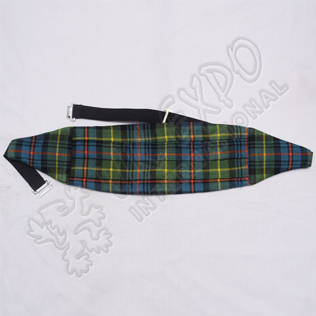 Scottish Flower of Scotland Tartan Cummerbund