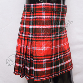 Scottish Women Mini Kilt Skirt