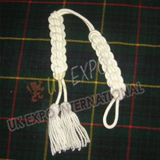 Shako Cord Cream Color Wool
