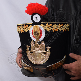 Shako senior officer of the young guard