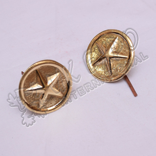 Shako Star Bios Brass Finish