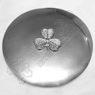 Shame Rock Badge with Plain Brooch