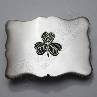 ShamRock Design Buckle