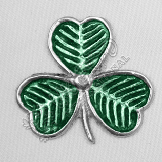 ShamRock Metal Badge