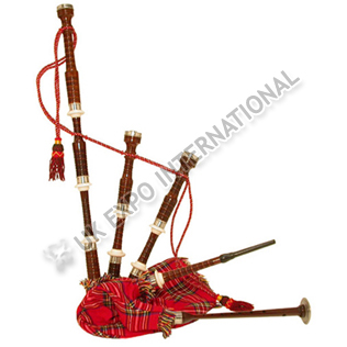 Sheesham Wood Bagpipe