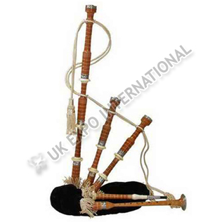 Sheesham Wood Half Size Bagpipe