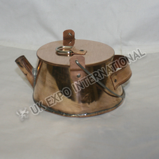 Short Tea Pot made in Copper