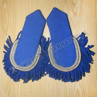Sky Blue color Wool Shoulders/Epaulette
