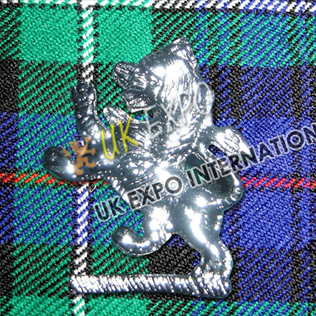Small Lion Metal Badge