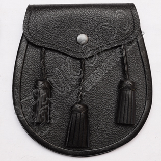 Sporran Leather Embossed