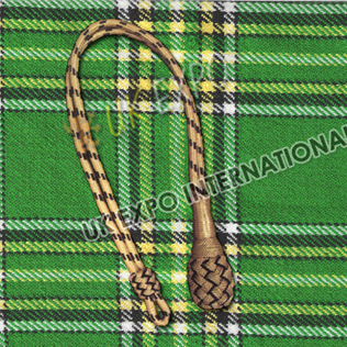 Sword Knot Black and Golden