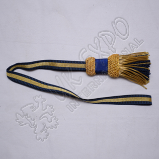 Sword Knot Golden With Blue Braid