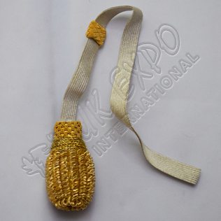 Sword Knot Silver and Gold Color