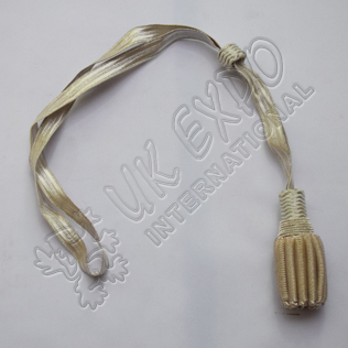 Sword Knot Silver Color
