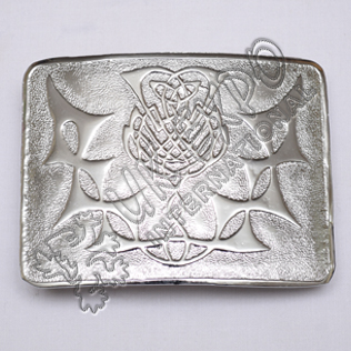 Thistle Flower Buckle