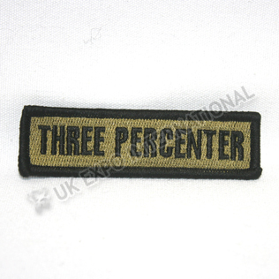 Three Percenter Pin