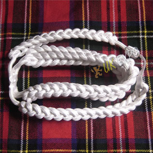 Triple Dress Rope (Silk) White Color