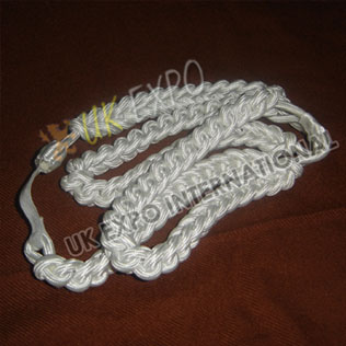 Triple uniform dress rope Color White