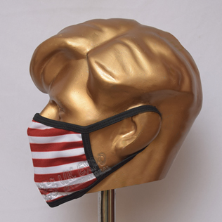 USA Flag Sublimated Cotton Mask