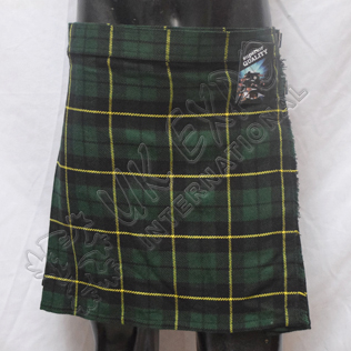 Wallace Hunting Tartan Ladies Mini Kilts