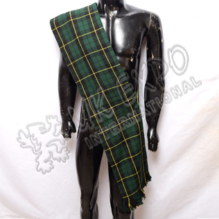 Wallace Hunting Tartan Ladies Sash
