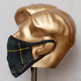 Wallace Hunting Tartan Scottish Style Mask