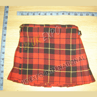 Wallace Modern Tartan Baby Kilts 2 Buckle Closing