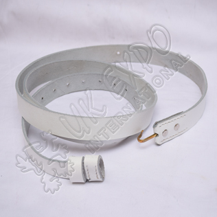 White Leather Musket sling superb reproduction suitable