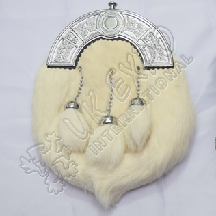 White Rabbit fur Sporran