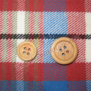 Wood button small and large