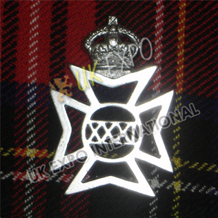 XXX1 German Metal Badge
