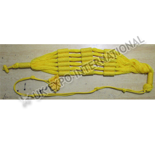 Yellow french officer barrel sash 100 percent wool